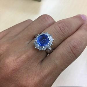 サファイヤ,Sapphire,9月,誕生石,宝石,ジュエリー,指輪,リング,ブランド楽市