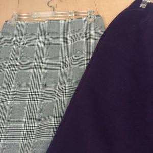 秋冬,ファッション,グレンチェック,トレンド,タイトスカート,30代