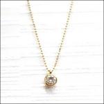 ティファニー,ダイヤモンドネックレス,K18,K24