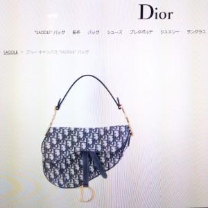 クリスチャン・ディオール,Christian Dior,サドルバッグ,トロッター柄,現行,公式サイト,復刻