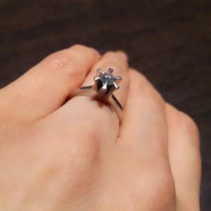 指輪,リング,婚約指輪,ダイヤモンド,立て爪,リフォーム,ブランド楽市,アンテウス