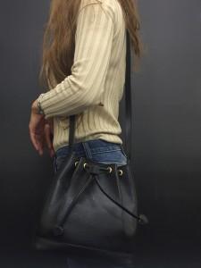 サンローラン,Laurent,イヴ・サンローラン,Yves Saint Laurent,巾着,バッグ,ファッション,90年代,リバイバル,レトロ,トレンド