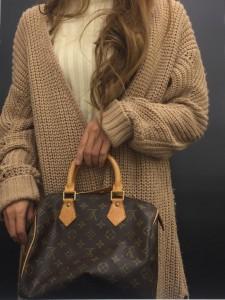 ルイ・ヴィトン,LOUIS VUITTON,モノグラムライン,スピーディー,25,ファッション,90年代,ブランド,人気