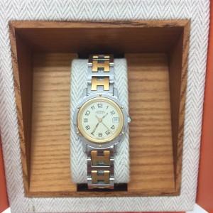 エルメス,HERMES,クリッパー腕時計,ご褒美,クリスマス,ギフト,プレゼント