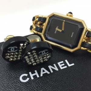 シャネル,CHANEL,ピアス,腕時計,プルミエール,ヴィンテージ,アクセサリー,ブランド,ファッション,オシャレ