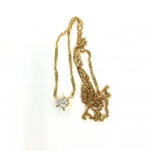 金,K18,貴金属,喜平,ネックレス,ダイヤモンド,ブランド楽市