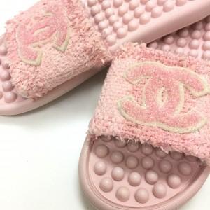 シャネル,CHANEL,サンダル,靴,シューズ,ファッション,ピンク,オシャレ