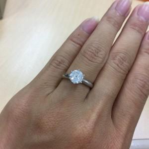 ダイヤモンド,立て爪,指輪,リング,宝石,貴金属,リフォーム,作り変え,リメイク,アンティーク,ジュエリー,オーダー,セミオーダー,地金,買取