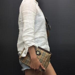 バーバリー,BURBERRY,クラッチバッグ,ヴィンテージ,オシャレ,ファッション,ブランド,バッグ,赤羽店,北区,東京都,ブランド楽市