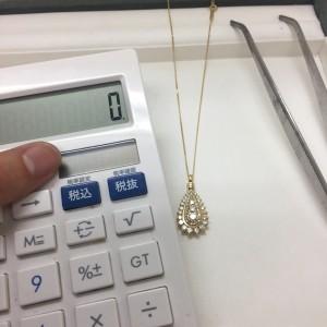 ダイヤモンド,買取実績,ネックレス,宝石,貴金属,査定,鑑定,ブランド楽市