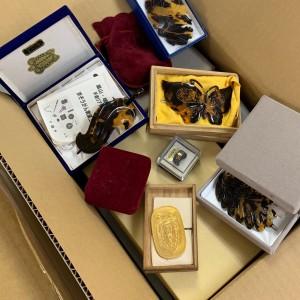 宅配買取,宝石,貴金属,琥珀,,べっ甲,生前整理,遺品整理,終活,ブランド楽市