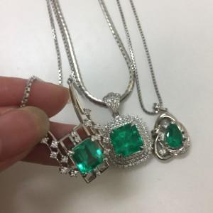 宝石,貴金属,エメラルド,鑑定,査定,ブランド楽市