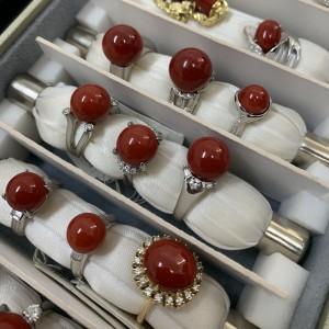 珊瑚,サンゴ,指輪,リング,宝石,貴金属,買取,販売,無料査定,ブランド楽市