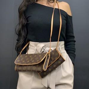ルイ・ヴィトン,LOUIS VUITTON,ポシェット・ツイン,ミニバッグ,小型バッグ,クラッチバッグ,ハンドバッグ,トレンド,女子,ファッション,ブランド