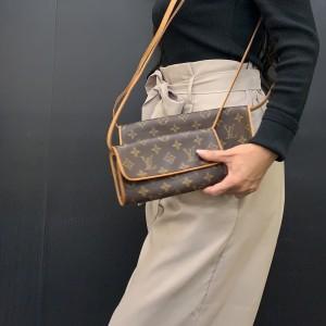 ルイ・ヴィトン,LOUIS VUITTON,ポシェット・ツイン,ミニバッグ,小型バッグ,クラッチバッグ,ハンドバッグ,トレンド,女子,ファッション,ブランド,宅配買取