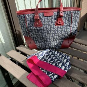 クリスチャンディオール,Christian Dior,ヴィンテージ,バッグ,スカーフ