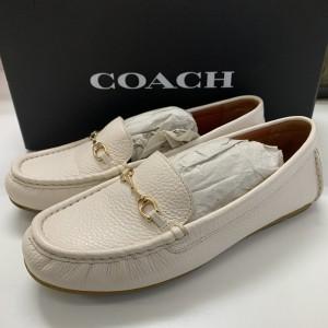 コーチ,COACH,白,ホワイト,靴,シューズ,トレンド,オシャレ,ブランド楽市
