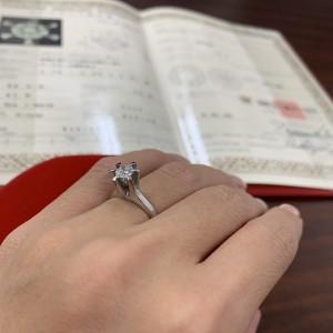 立て爪,ダイヤモンド,リング,指輪,リング,リフォーム,作り替え,貴金属,吉祥寺店,ブランド楽市