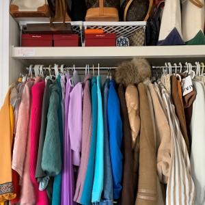 ワードローブ,クローゼット,バッグ,洋服,片付け,断捨離,処分,買取,ブランド楽市,デリバリー,宅配買取
