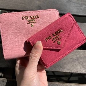 プラダ,PRADA,財布,コインケース,買い替え,春,ミニ財布,小型財布,ブランド楽市